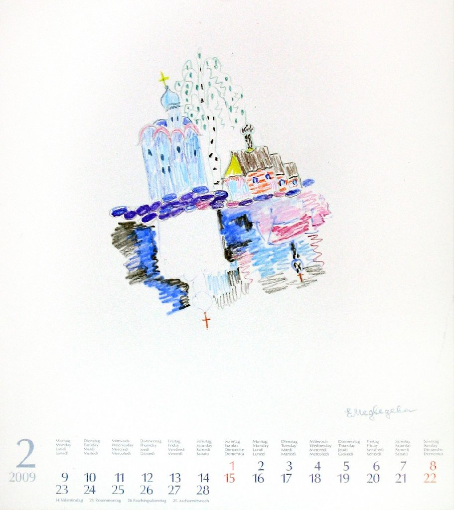Календарь. Февраль