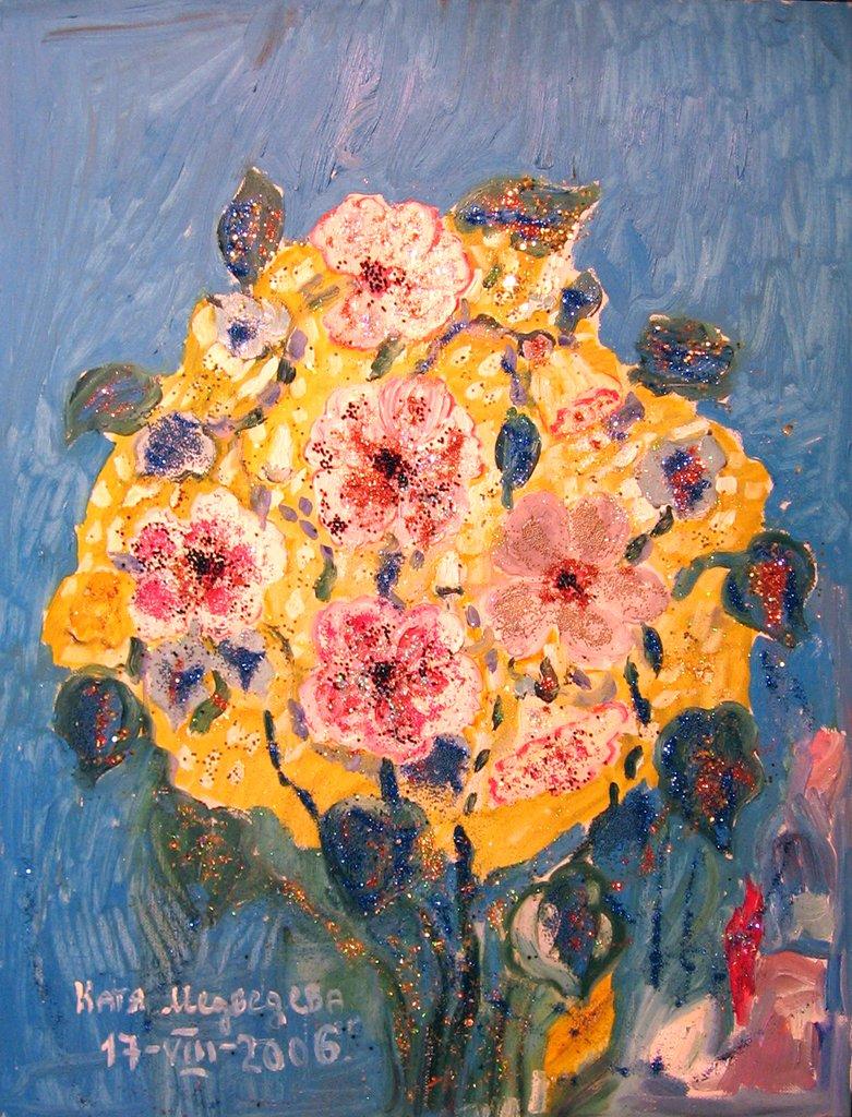 Букет картина художника
