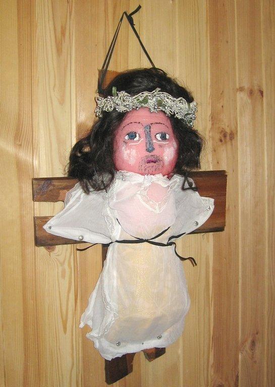 Кукла Иисус Христос
