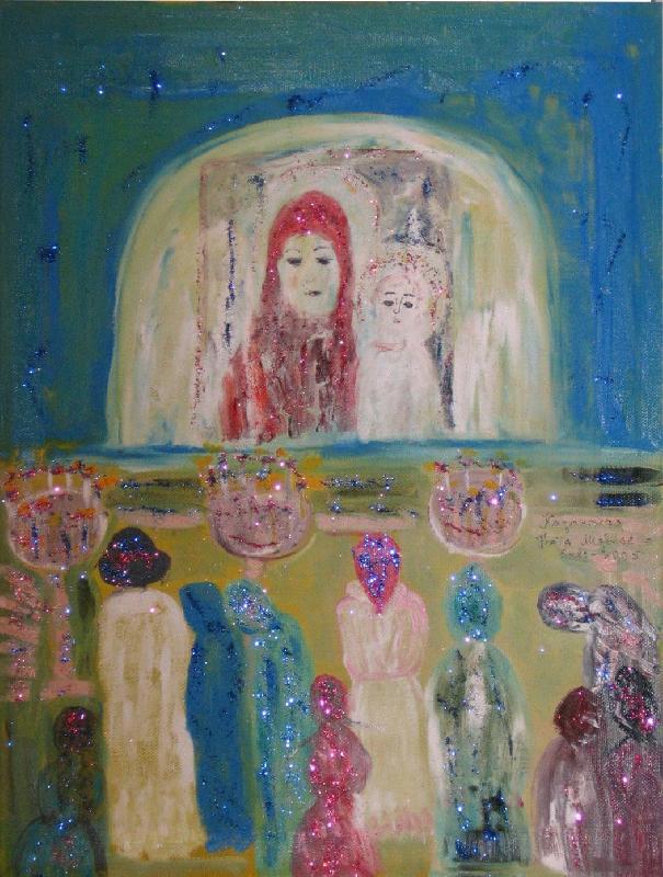 Kazanskaya - the Blessed Virgin