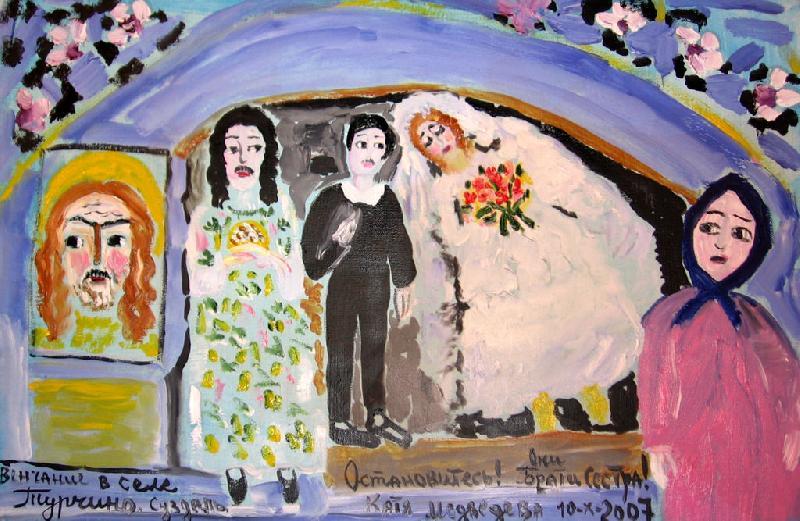 Венчание в селе Турчино. Суздаль