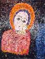 Картина Кати Медведевой: Богоматерь Популярность: 5297