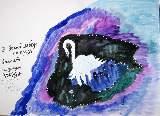 Картина Кати Медведевой: Лебедь Популярность: 6193