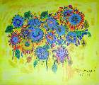 Картина Кати Медведевой: Цветы Популярность: 5219