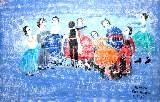 Картина Кати Медведевой: Танцы Популярность: 4677
