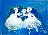 Картина Кати Медведевой: Две лилии Популярность: 4962
