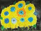 Картина Кати Медведевой: Цветы Популярность: 4787