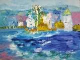 Картина Кати Медведевой: Старая Ладога Популярность: 5320