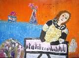 Картина Кати Медведевой: Молодой Бах Популярность: 4681
