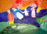Картина Кати Медведевой: Прогулка Популярность: 4535
