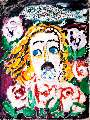 Картина Кати Медведевой: Иисус радостный Популярность: 4529