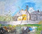 Картина Кати Медведевой: Село Перво Популярность: 4102