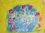 Картина Кати Медведевой: Цветы Популярность: 4882