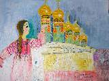 Картина Кати Медведевой: Москвичка Популярность: 6152