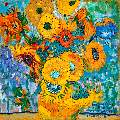 Katya Medvedeva : The impression of Van Gogh Popularity: 7650