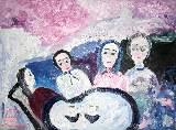 Картина Кати Медведевой: Беседа о вере Популярность: 6006