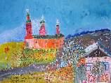 Картина Кати Медведевой: Село Перво Популярность: 5992