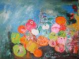 Картина Кати Медведевой: Яблочный Спас Популярность: 6358