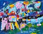 Картина Кати Медведевой: Париж Популярность: 5144