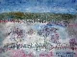 Картина Кати Медведевой: Село Перво Популярность: 5491