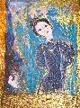 Картина Кати Медведевой: Лебёдушка Популярность: 6141