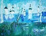 Картина Кати Медведевой: Кириллобелозерский монастырь Популярность: 5581
