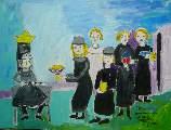 Картина Кати Медведевой: Святослав принимает дань Популярность: 865