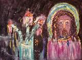 Картина Кати Медведевой: Святой Популярность: 6243