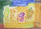 Картина Кати Медведевой: Виноград в ящичке Популярность: 6304