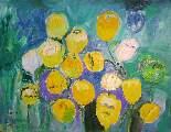 Картина Кати Медведевой: Цветы Популярность: 4128