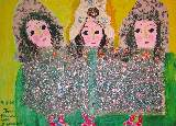 Картина Кати Медведевой: Три девицы Популярность: 5743