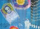 Картина Кати Медведевой: Не покинь нас Пресвятая Богородица Популярность: 4879