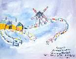 Картина Кати Медведевой: Суздаль Популярность: 5393