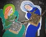 Картина Кати Медведевой: Благовещенье Популярность: 4933