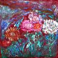 Картина Кати Медведевой: Цветы Популярность: 5319