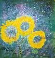 Картина Кати Медведевой: Цветы Популярность: 4495