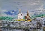 Картина Кати Медведевой: Старая Ладога Популярность: 2272