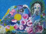 Картина Кати Медведевой: Яблочный спас Популярность: 4589
